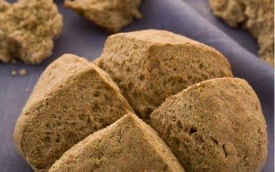 Receitinha de pão integral com iogurte