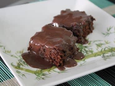 Bolo de chocolate sem farinha de trigo