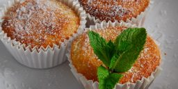 Muffins de Coco e Lima