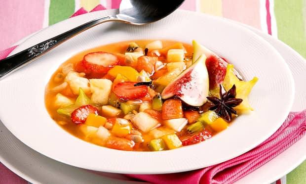 Sopa de fruta